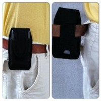 LifeProof IPhone 4 and 4S Belt Loop Deluxe Padded Cell Phone Nylon holster NO CLIPS TO BREAK