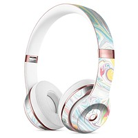 Marbleized Swirling Candy Colors Full-Body Skin Kit for the Beats by Dre Solo 3 Wireless Headphones