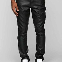 KC By Kill City Faux-Leather Skinny Pant - Black
