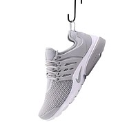 Nike Air Presto Fashion Women Man Casual Sport Running Shoes Sneakers Grey