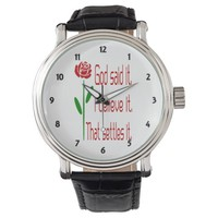 Red Rose God Said It Watch