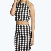 Candice Gingham Co-ord Set
