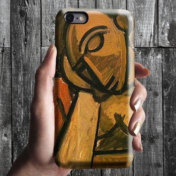 Repose - Pablo Picasso iPhone Case 6/6S, 6 Plus, 4S,5S. Mobile Phone Cell. Art Painting. Gift Idea. Anniversary. Gift for him and her