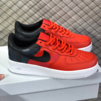 HCXX N768 Nike Air Force 1 AF1 De Lo Mio Low Casual Skate Shoes Red