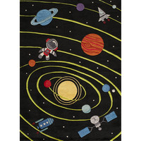 Momeni 'Lil Mo Solar Black Rug (2' x 3') | Overstock.com Shopping - The Best Deals on Accent Rugs