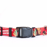 Chicago Blackhawks Dog Collar NHL Hockey Officially Licensed Pet Product