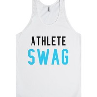 Athlete SWAG-Unisex White Tank