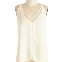 ModCloth Mid-length Halter Dainty and Delightful Top