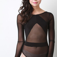 Overexposed Mesh Bodysuit