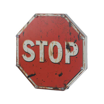 Light Up Stop Sign