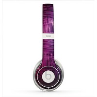 The Vibrant Colored Lined Surface Skin for the Beats by Dre Solo 2 Headphones