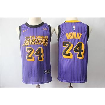 2019 LA Lakers 24 Kobe Bryant City Edition Jersey