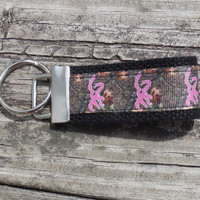 Mini Key Fob, Camouflage Mini Fob, Pink Browning Camouflage, Mini Key Holder, Mini Key Chain, Mini Key Ring, Accessory