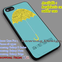 How I Met Your Mother iPhone 6s 6 6s+ 5c 5s Cases Samsung Galaxy s5 s6 Edge+ NOTE 5 4 3 #movie #howimeetyourmother dl7