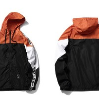 Ribbon Windbreaker Jacket