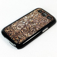 Retro Carving Wood Pattern Samsung Galaxy S4 S3 S2 NOTE 2 Rubber Case and Hard Cover Case