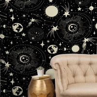 Heather Dutton Solar System Tapestry
