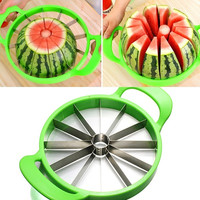 21cm Stainless Steel Melon Watermelon Cantaloupe Slicer Cutter With Patent