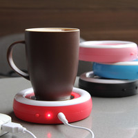 Portable USB Electronic Warmer Coffee Milk Tea Cup Heating Pad Plate = 4451568516