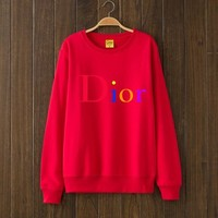 One-nice™ DIOR Woman Men Top Sweater Pullover