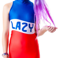 Lazy Oaf Take It To The Max Bodycon Red/White/Blue