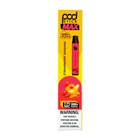 PodStick Max Disposable Vape Device Strawberry Banana