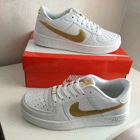 """""""Nike Air Force 1"""" Unisex Sport Casual Classic Fashion Low Help Plate Shoes Couple Sneakers"""