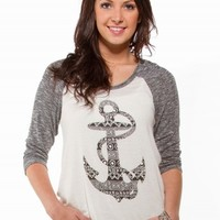 ANCHOR GRAPHIC SWEATER