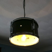 Musical Drum Light Pendants large and small by jessedirk on Etsy