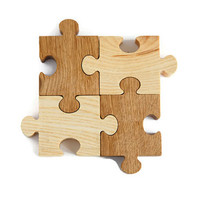 Wood Jigsaw Puzzle Toy Educational toys for toddlers Handmade Montessori Gift idea Learning toy