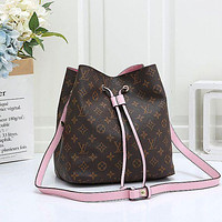 Louis Vuitton LV Women Handbag Chain Bag Escale Neonoe Bucket Bag
