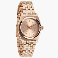 Nixon The Small Time Teller Watch All Rose Gold One Size For Women 24408638101
