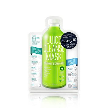 Spearmint & Green Apple Juice Cleanse Mask