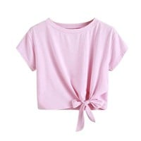 Candy girl woman's crop top