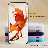 Art Fox Phone Case For iPhone 6 Plus For iPhone 6 For iPhone 5/5S For iPhone 4/4S For iPhone 5C iPhone X 8 8 Plus