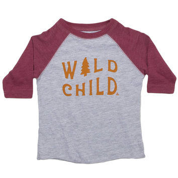 Wild Child 3/4 Sleeve - Youth