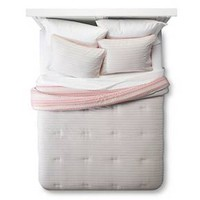 Comforter Set Reverse Multi Stripe Room Essentials™