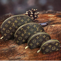 LV Louis Vuitton Ms. All-in-print letter four-piece cosmetic bag accessories travel storage bag