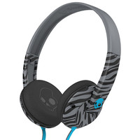 Skullcandy Uprock Headphones Zebra Grey/Black One Size For Men 23223697601