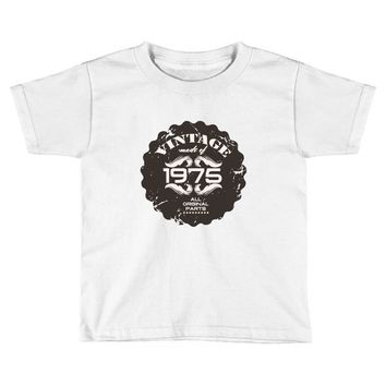 vintage made of 1975 all original parts Toddler T-shirt