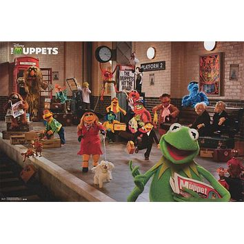 The Muppets Most Wanted Movie Poster 22x34