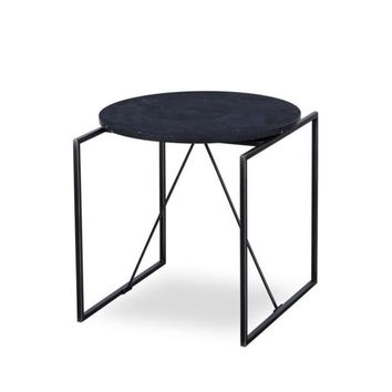 CATA SIDE TABLE - BLACK MARBLE