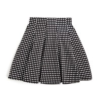 AQUAGirls' Windowpane Plaid Skirt - Sizes S-XL