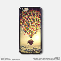 Flying elephant with balloon Free Shipping iPhone 6 6Plus case iPhone 5s case iPhone 5C case 404-701
