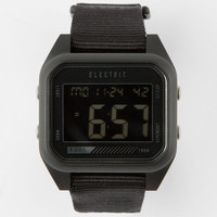 Electric Ed01 Nato Watch Black/Black One Size For Men 25175117801