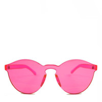 Acrylic Sunglasses - Rose Pink