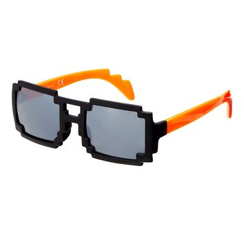ASOS Sunglasses with Pixel Effect Frame