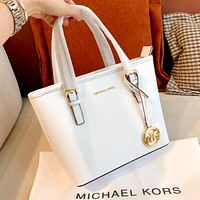 MK Simple New Women's Tote Bag Shopping Bag Handbag Shoulder Messenger Bag