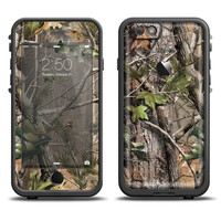 The Real Tree Woods Camouflage Apple iPhone 6 LifeProof Fre Case Skin Set (Other Models Available!)