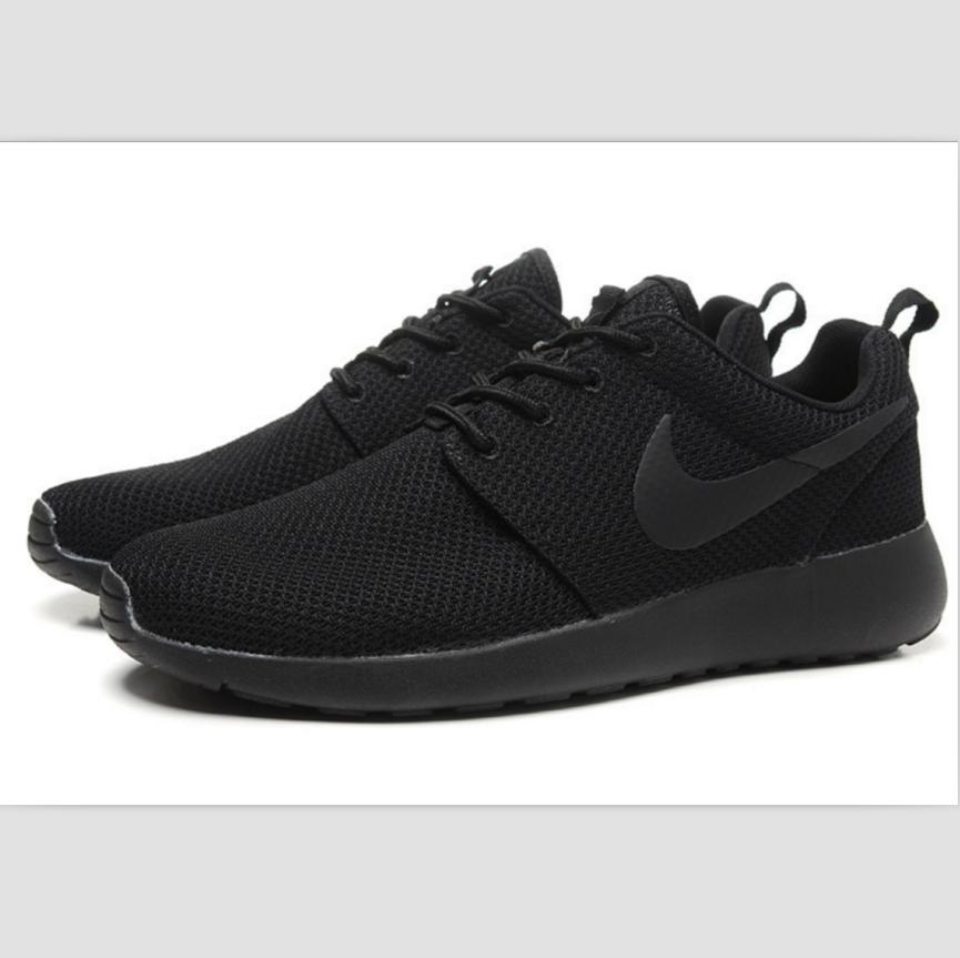 Image of NIKE fashion network sports shoes casual shoes Black